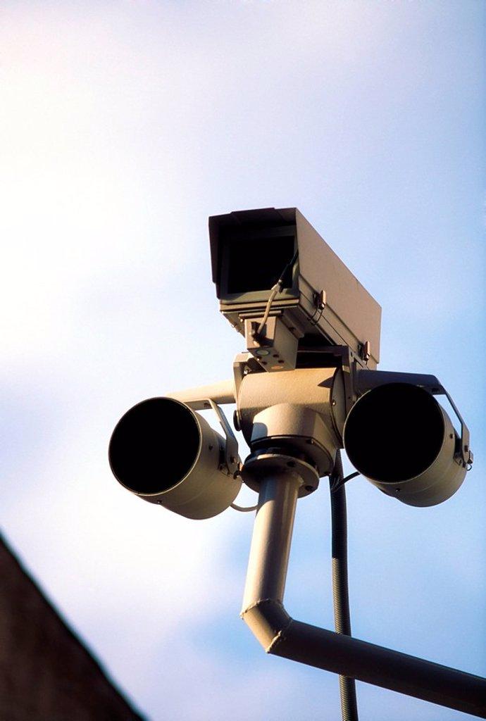 Stock Photo: 1889R-54592 Security camera