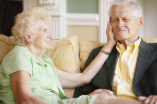 Senior couple together : Stock Photo