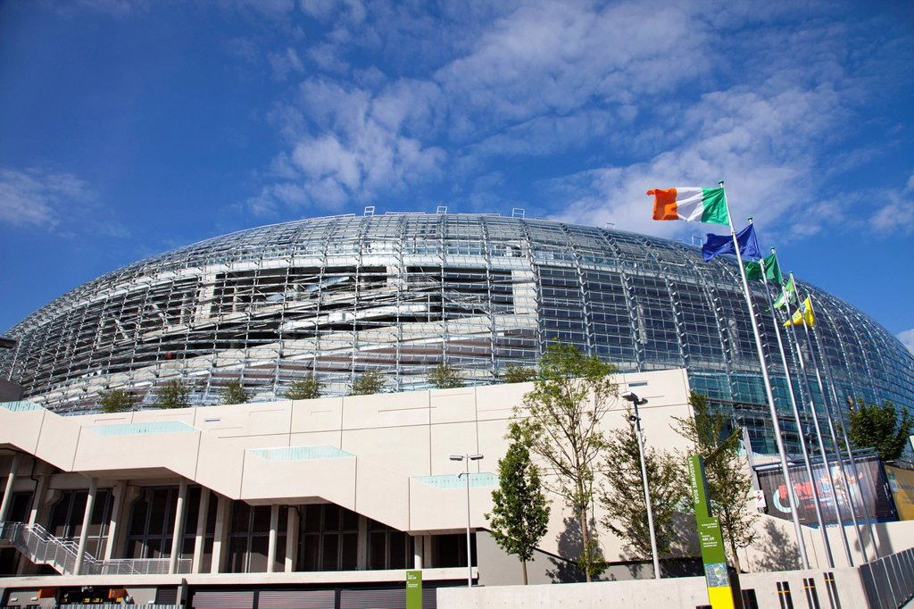 Stock Photo: 1889R-64943 aviva stadium, dublin, dublin county, ireland