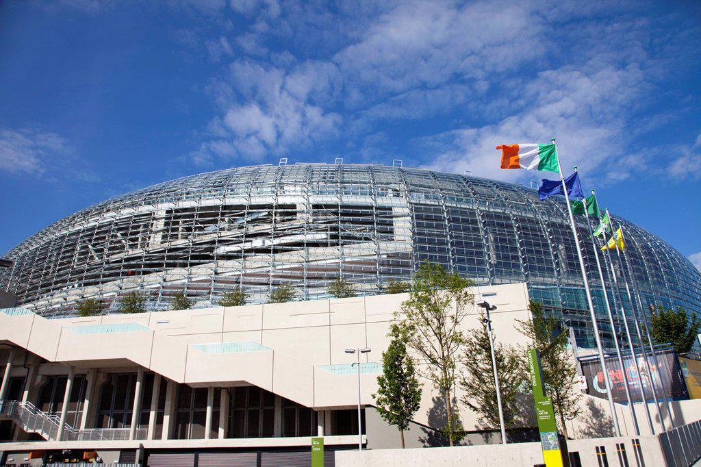 aviva stadium, dublin, dublin county, ireland : Stock Photo