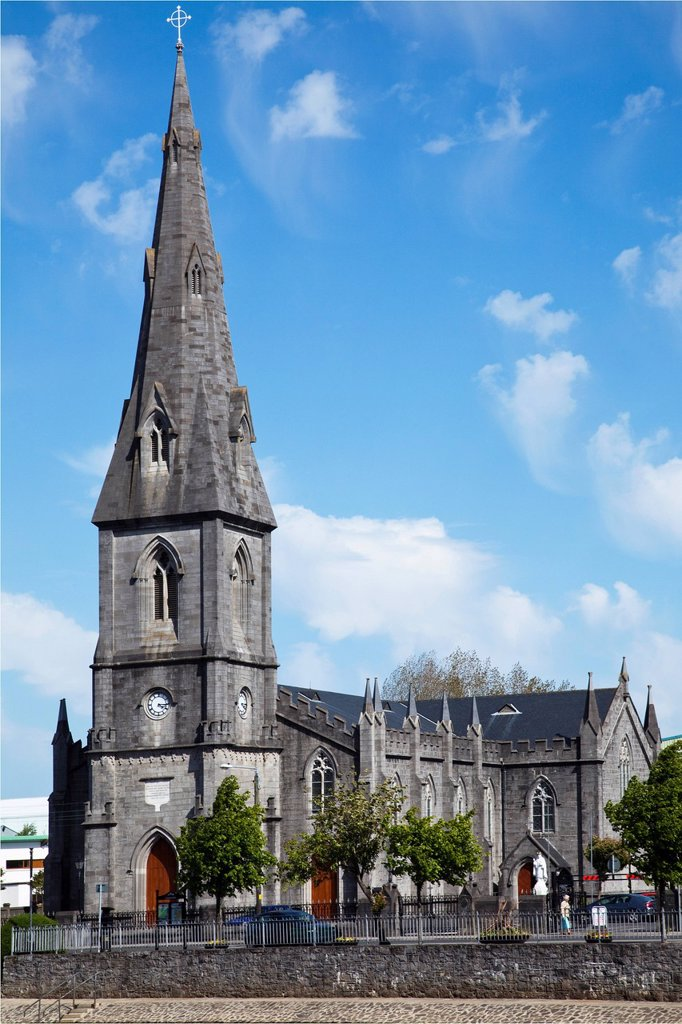 Exterior Of St. Muredach´S Cathedral, Ballina, County Mayo, Ireland : Stock Photo
