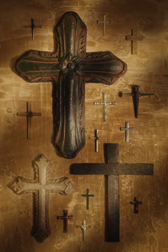 Various forms of the cross : Stock Photo