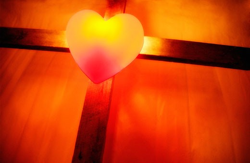 Heart of love : Stock Photo