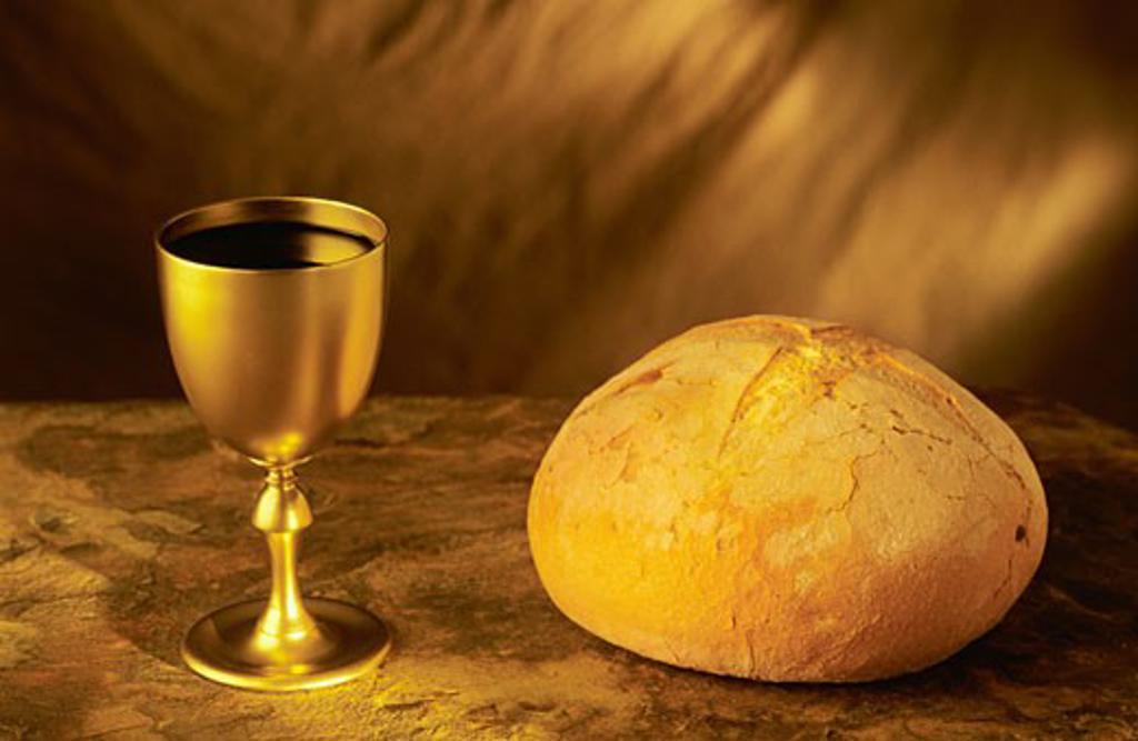 Communion symbols : Stock Photo