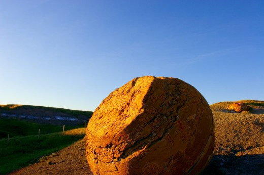 Red Rock coulee : Stock Photo