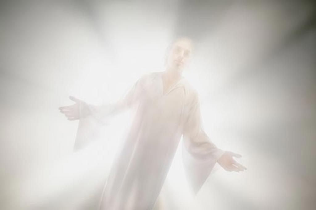 Stock Photo: 1889R-9854 An angel