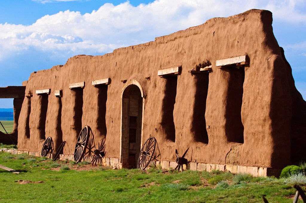 Fort Union National Monument and Santa Fe National Historic Trail, New Mexico, United States of America, North America : Stock Photo