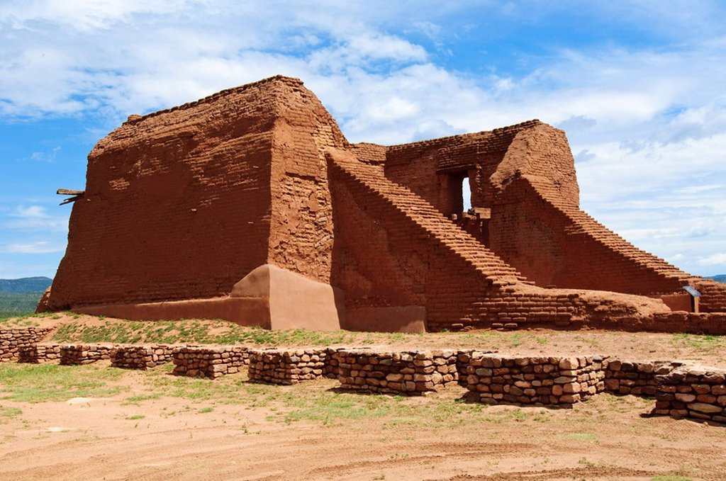 Stock Photo: 1890-100664 Pecos National Historical Park, New Mexico, United States of America, North America