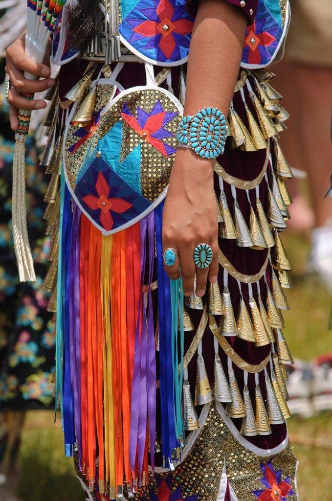 Native American Powwow, Taos, New Mexico, United States of America, North America : Stock Photo
