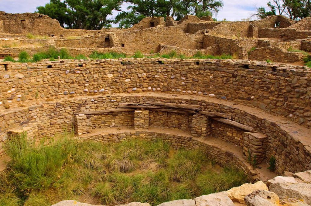 Stock Photo: 1890-100694 Aztec Ruins National Monument, New Mexico, United States of America, North America
