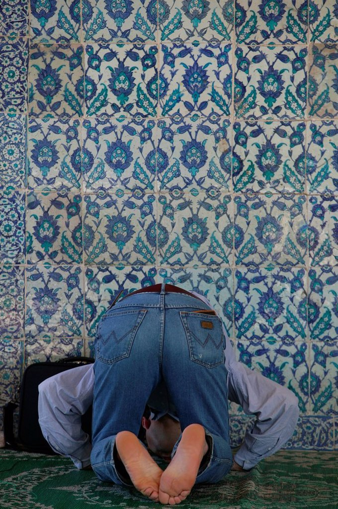 Prayer, Istanbul, Turkey, Europe : Stock Photo