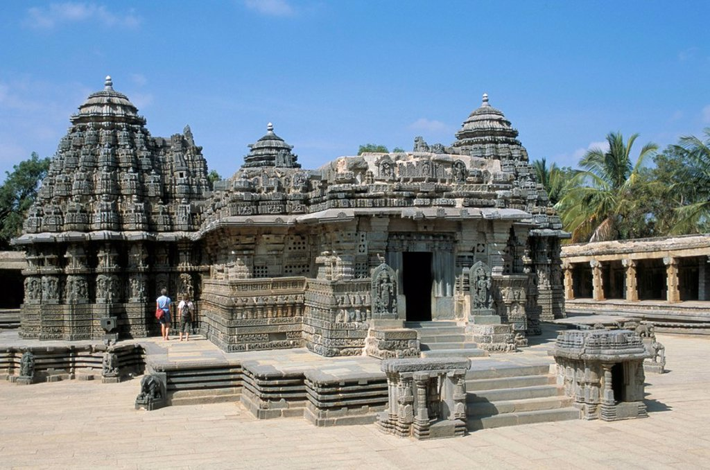 The 12th century Keshava temple, Mysore, Karnataka, India, Asia : Stock Photo