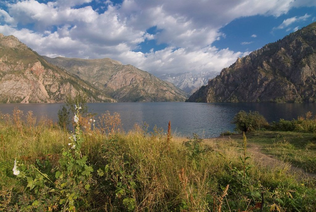 Stock Photo: 1890-104474 Sary Chelek UNESCO Biosphere Reserve, Kyrgyzstan, Central Asia