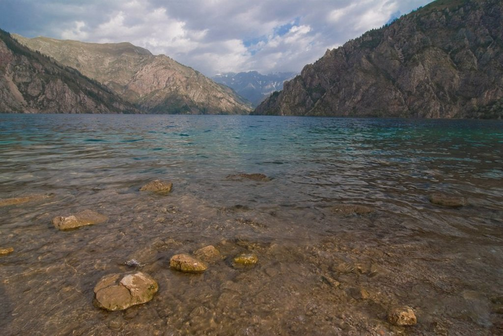 Stock Photo: 1890-104475 Sary Chelek UNESCO Biosphere Reserve, Kyrgyzstan, Central Asia