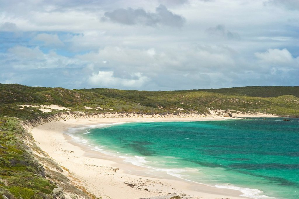 Stock Photo: 1890-105257 Hamelin Bay north of Cape Leeuwin at the southwestern tip of Australia, Augusta_Margaret River Shire, Western Australia, Australia, Pacific