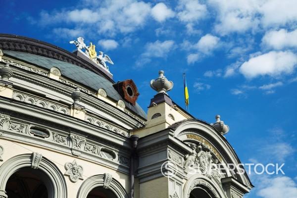 Stock Photo: 1890-109975 National Opera Theatre, Kiev, Ukraine, Europe