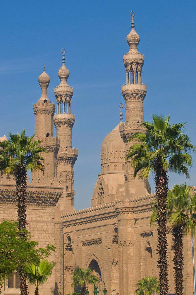 Mosque of Mahmoud Pasha, Cairo, Egypt, North Africa, Africa : Stock Photo