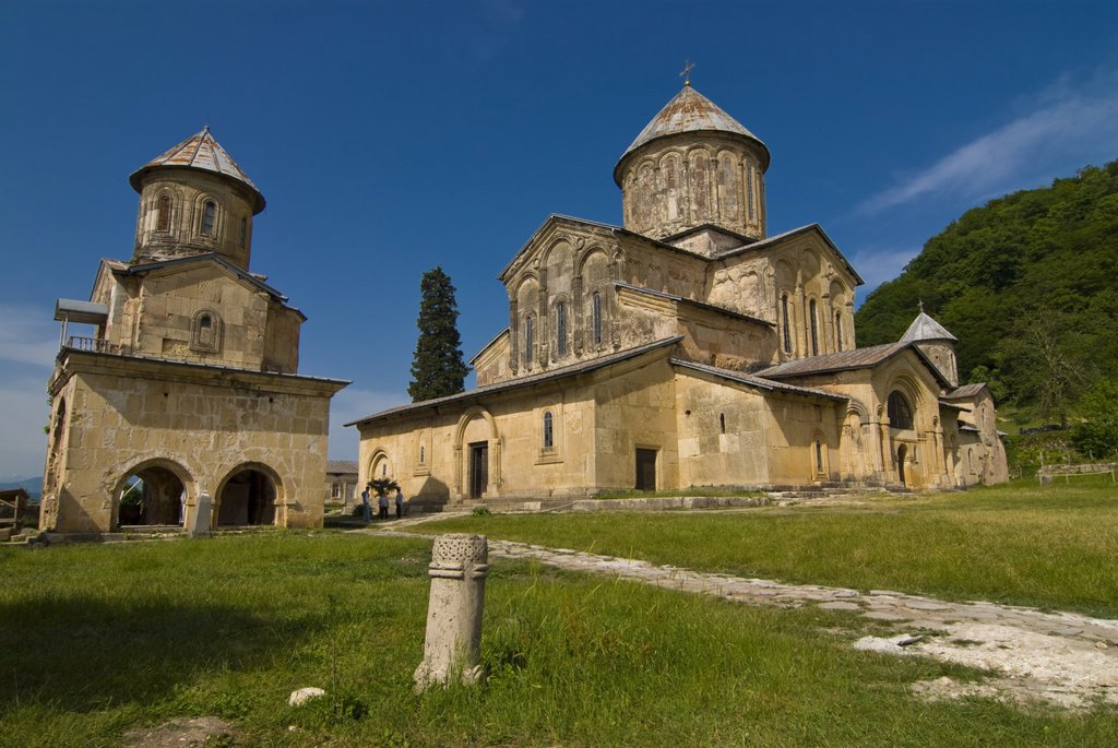 Stock Photo: 1890-111878 The cathedral of Gelati, UNESCO World Heritage Site, Georgia, Caucasus, Central Asia, Asia