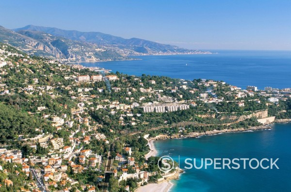 Stock Photo: 1890-112490 Cap Martin, Cote d´Azur, Alpes_Maritimes, Provence, French Riviera, France, Mediterranean, Europe