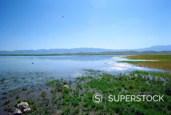 Stock Photo: 1890-1144 Lake Paresham, Iran, Middle East