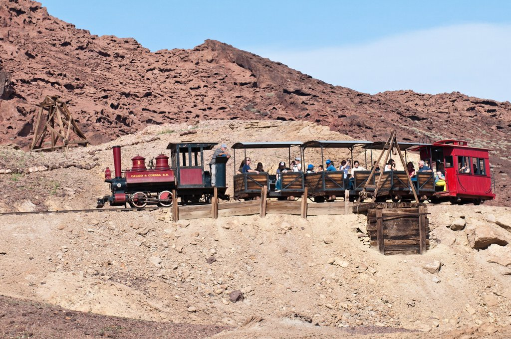 Calico Ghost Town near Barstow, California, United States of America, North America : Stock Photo