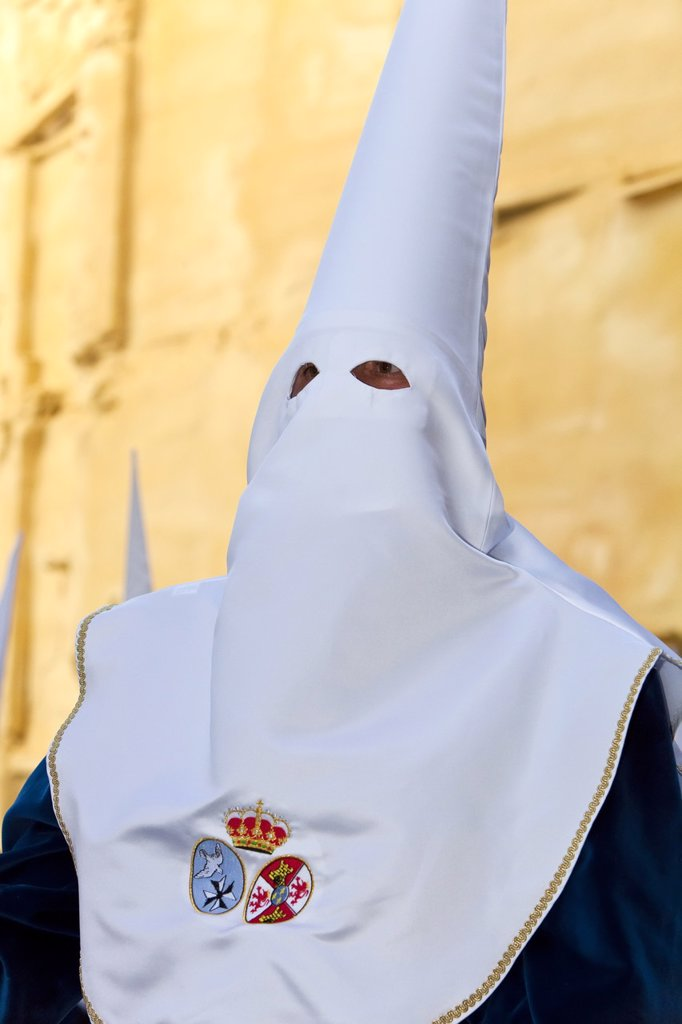 Stock Photo: 1890-115481 Semana Santa Holy Week celebrations, Malaga, Andalucia, Spain, Europe