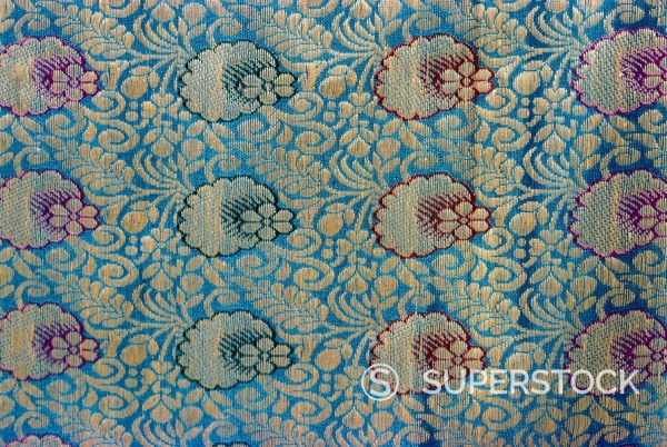 Stock Photo: 1890-1157 Sari material, Karachi, Pakistan, Asia
