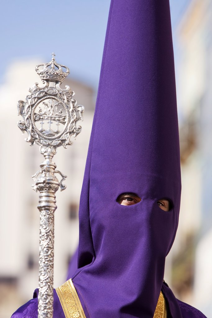 Stock Photo: 1890-115881 Semana Santa Holy Week celebrations, Malaga, Andalucia, Spain, Europe