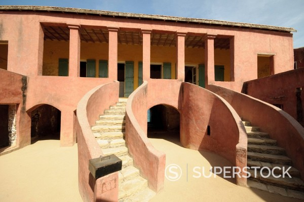 Stock Photo: 1890-116744 Maison des Esclaves Slaves House, Goree Island, UNESCO World Heritage Site, near Dakar, Senegal, West Africa, Africa