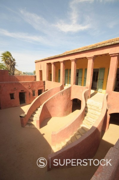 Stock Photo: 1890-116745 Maison des Esclaves Slaves House, Goree Island, UNESCO World Heritage Site, near Dakar, Senegal, West Africa, Africa