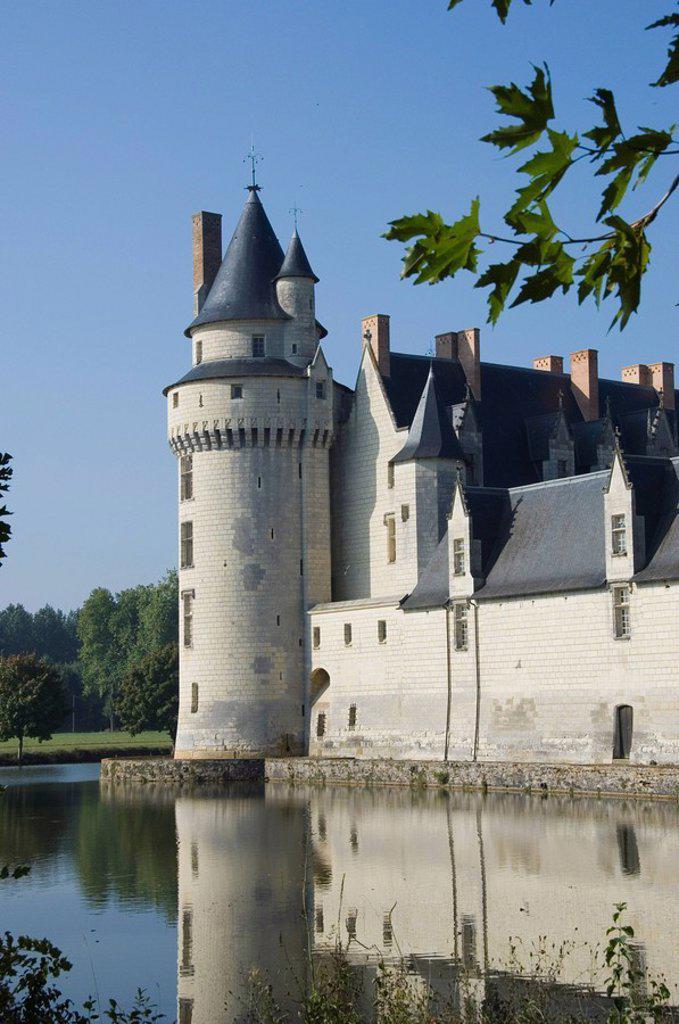 Stock Photo: 1890-117074 Chateau Plessey Bourre, Maine_et_Loire, Pays de la Loire, France, Europe