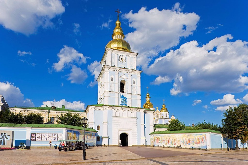 Stock Photo: 1890-117923 St. Michael´s Monastery, Kiev, Ukraine, Europe