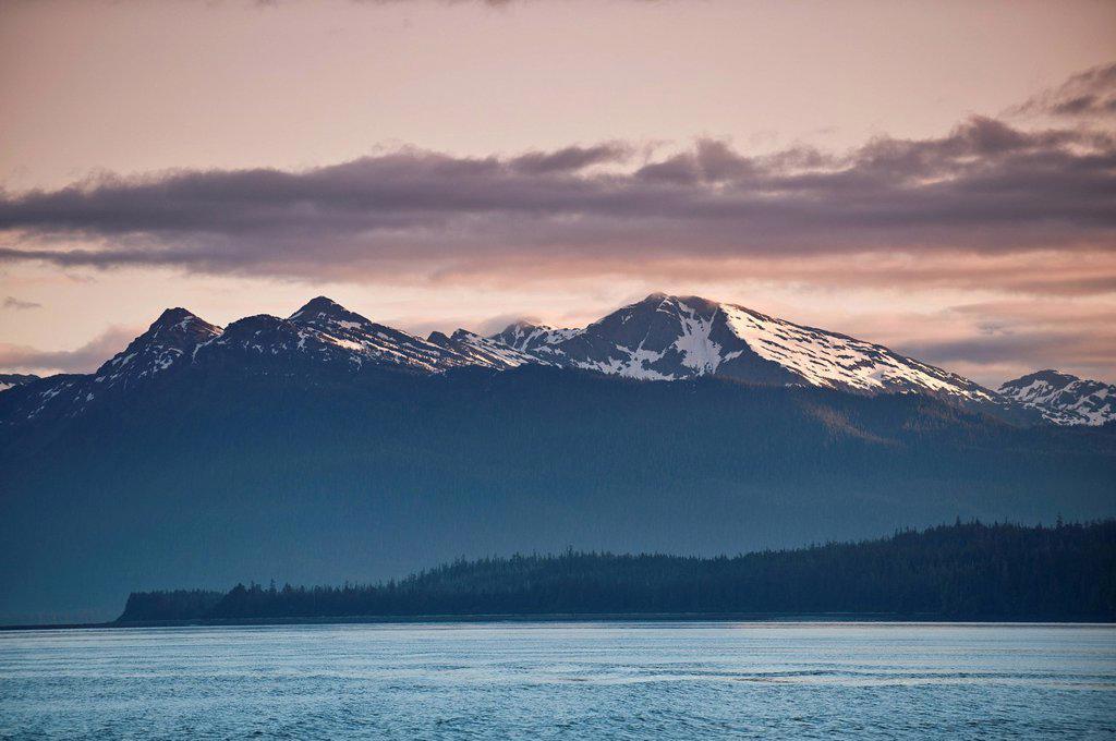 LeConte Bay, Southeast Alaska, Alaska, United States of America, North America : Stock Photo