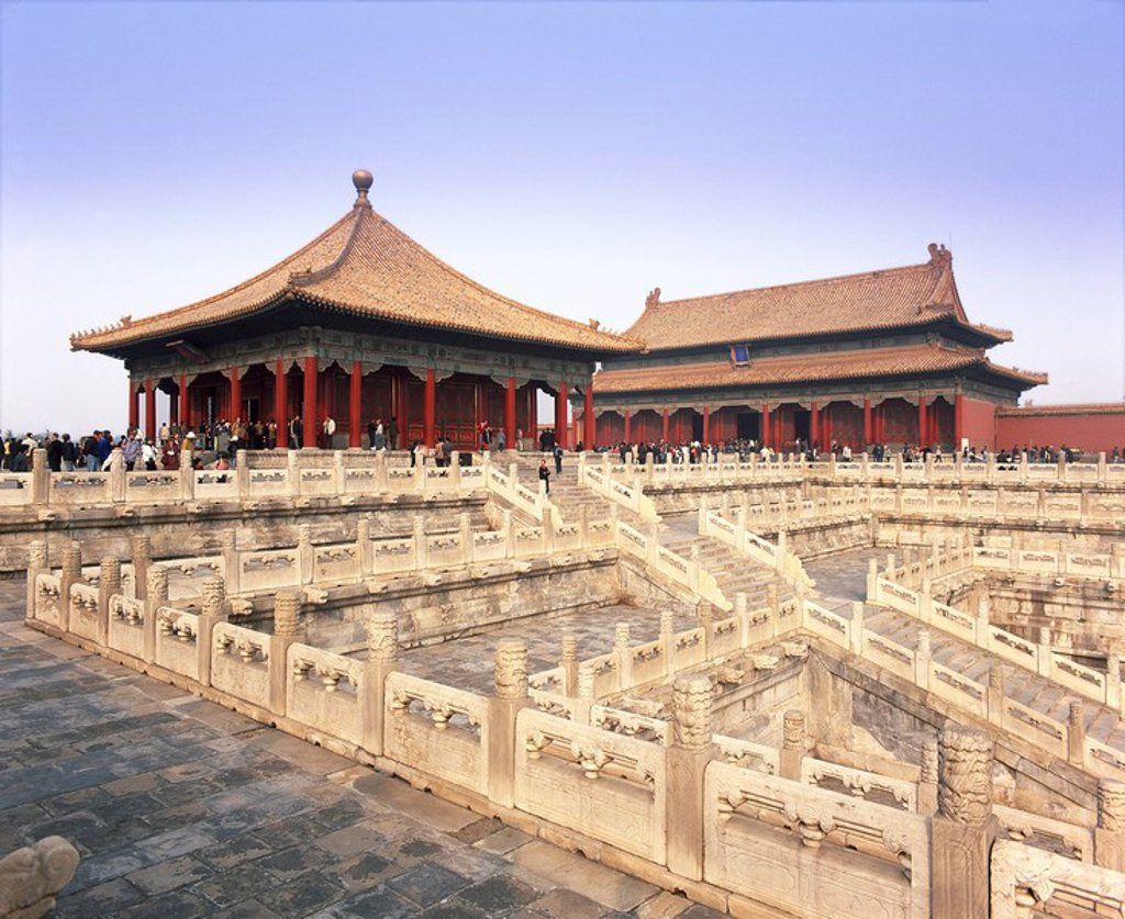 Forbidden Palace Zijin Cheng, UNESCO World Heritage Site, Beijing, China, Asia : Stock Photo