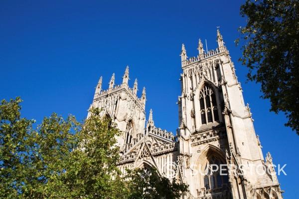 York Minster, York, Yorkshire, England, United Kingdom, Europe : Stock Photo