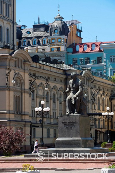 Stock Photo: 1890-128787 Ukraine National Opera House, Kiev, Ukraine, Europe