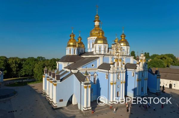 St. Michael´s Church, Kiev, Ukraine, Europe : Stock Photo