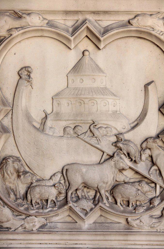 Stock Photo: 1890-128912 Noah´s Ark, Sainte_Chapelle, Paris, France, Europe