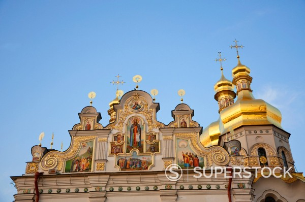 Stock Photo: 1890-131040 Holy Dormition, Kiev_Pechersk Lavra, UNESCO World Heritage Site, Kiev, Ukraine, Europe