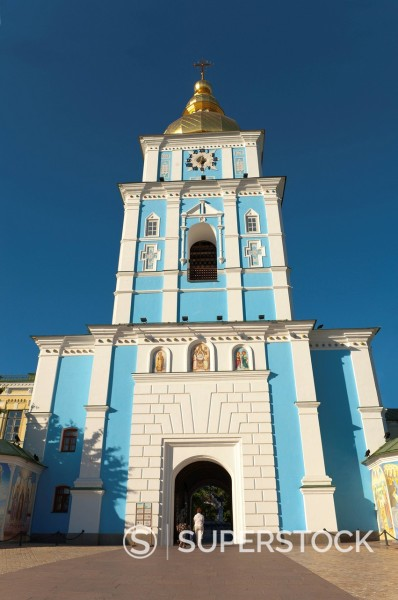 Stock Photo: 1890-131194 St. Michael´s Church, Kiev, Ukraine, Europe