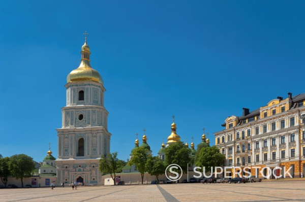 Stock Photo: 1890-131725 Sofia Square, Kiev, Ukraine, Europe