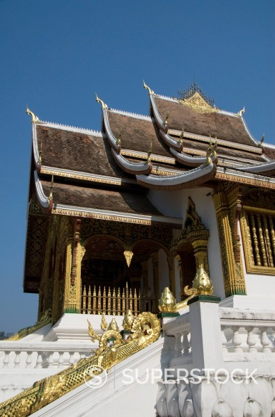 Wat Sen, Luang Prabang, Laos, Indochina, Southeast Asia, Asia : Stock Photo