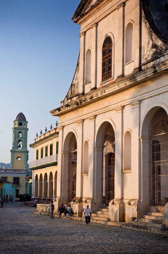 Stock Photo: 1890-132540 Iglesia Parroquial de la Santisima Trinidad, Trinidad, UNESCO World Heritage Site, Cuba, West Indies, Central America