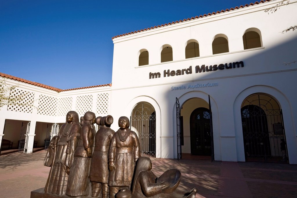 Heard Museum, Phoenix, Arizona, United States of America, North America : Stock Photo