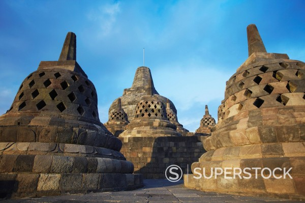 Borobudur Temple, UNESCO World Heritage Site, Java, Indonesia, Southeast Asia, Asia : Stock Photo