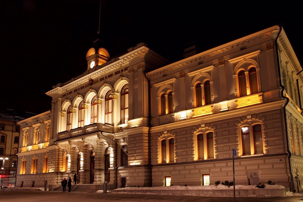Stock Photo: 1890-142807 Tampere Town Hall, neo_renaissance style, Georg Schreck designed and built 1890, Central Square Keskustori, Tampere, Finland, Scandinavia, Europe