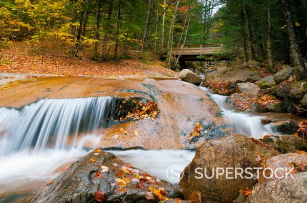 Franconia Notch State Park, New Hampshire, New England, United States of America, North America : Stock Photo