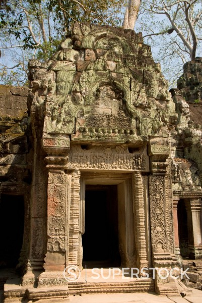 Stock Photo: 1890-143714 Ta Prohm, Angkor Archaeological Park, UNESCO World Heritage Site, Siem Reap, Cambodia, Indochina, Southeast Asia, Asia