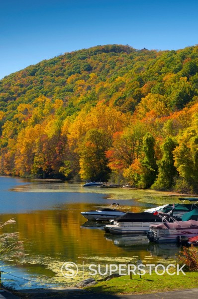 Lake Candlewood, Connecticut, New England, United States of America, North America : Stock Photo
