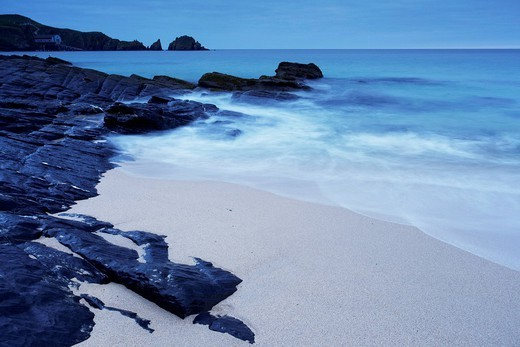 Mother Ivey´s Bay, Cornwall, England, United Kingdom, Europe : Stock Photo